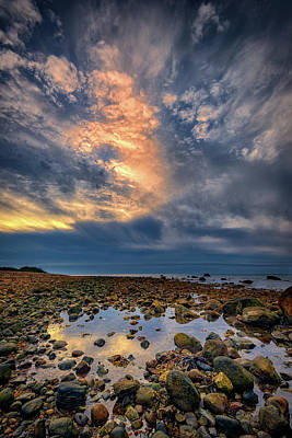 Tide Pool At Montauk Point Poster