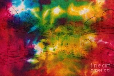 Tie-dyed Intermezzo Dream Poster