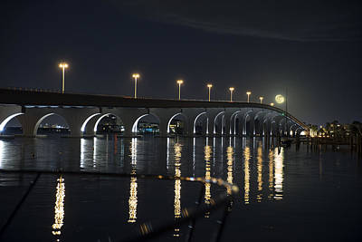 Tierra Verde Bridge Poster