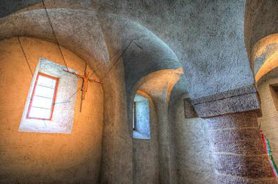 Tihany Benedictine Abbey Crypt Poster