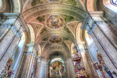 Tihany Benedictine Abbey Hungary Poster