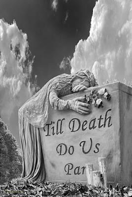 Till Death Do Us Part Poster by LeeAnn McLaneGoetz McLaneGoetzStudioLLCcom