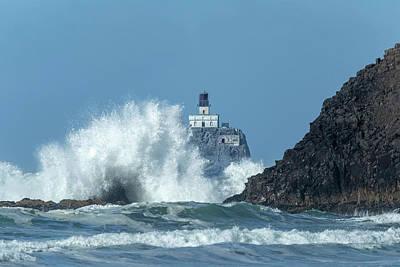 Tillamook Rock Light House, Oregon - Terrible Tilly Poster