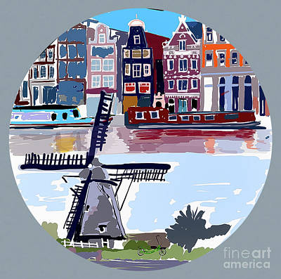 Tilting Windmills Poster