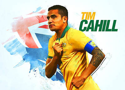 Tim Cahill Poster