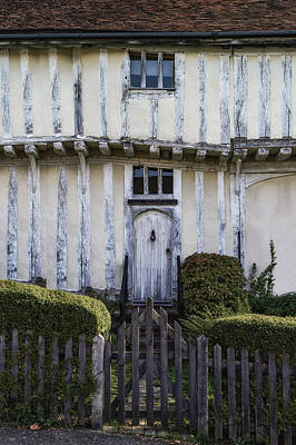 Timbered Cottage Poster