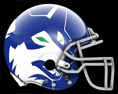 Timberwolves What If Its Football 2 Poster by Joe Hamilton