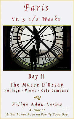 Time At The Musee D'orsay Cover Art Poster