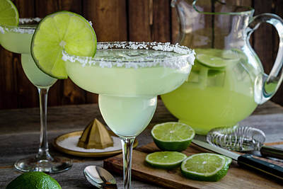 Poster featuring the photograph Time For Margaritas by Teri Virbickis
