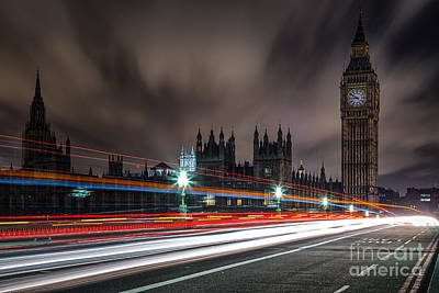 Time Poster by Giuseppe Torre