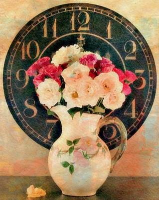 Time Of Roses Poster by Kathy Bucari