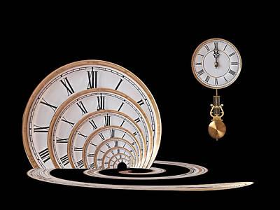 Time Portal Poster by Gill Billington