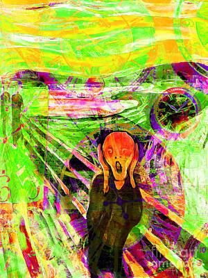 Timeless Art The Scream 20160305 Poster