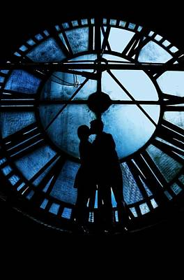 Timeless Love - Midnight Blue Poster