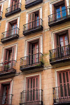 Tiny Iron Balconies Poster