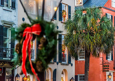 Tis The Season - Charleston Sc Poster