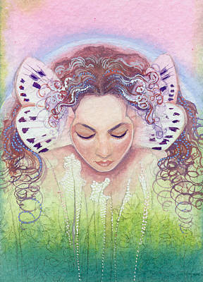 Poster featuring the painting Titania by Ragen Mendenhall