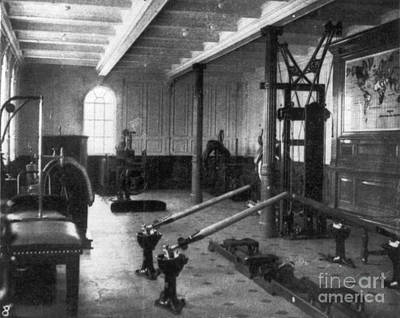 Titanic: Exercise Room, 1912 Poster