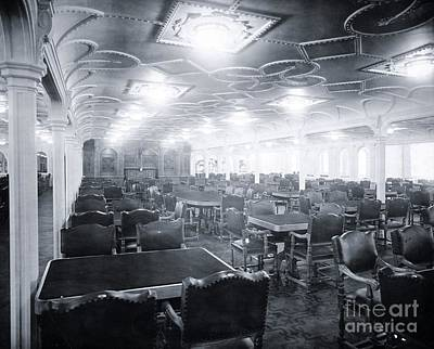 Titanic's First Class Dining Room Poster