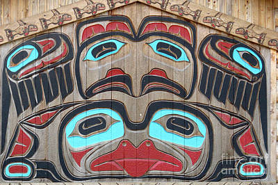 Tlingit Wall Panel Poster