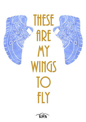 To Fly. Poster by Keep Making Smiles