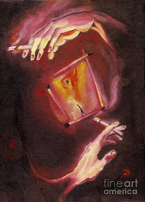To Live As One Family. 11 March, 2003 Poster by Tatiana Chernyavskaya