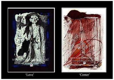 To Love Must Be Centered Poster