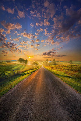 To The Place Where Dreams Are Born Poster by Phil Koch