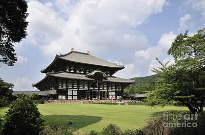 Todaiji Temple Poster by Andy Smy