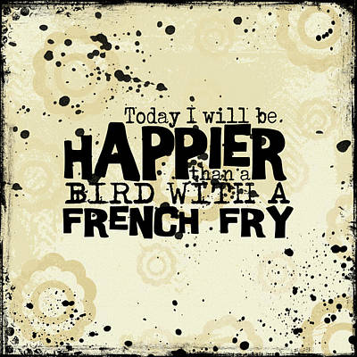Today I Will Be Happier Poster