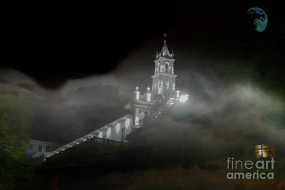 Poster featuring the photograph Todos Santos In The Fog by Al Bourassa