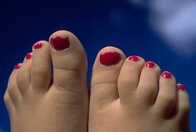 Toes Poster