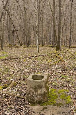 Toilet Remains 1 G Poster by John Brueske