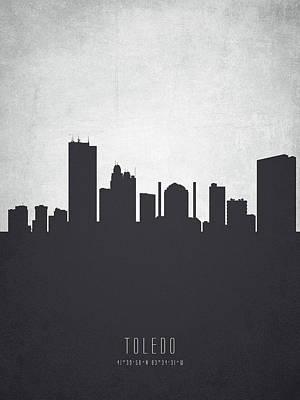 Toledo Ohio Cityscape 19 Poster