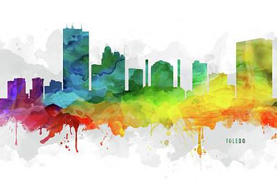 Toledo Skyline Mmr-usohto05 Poster