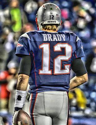 Tom Brady Art 2 Poster