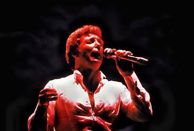 Tom Jones In Concert Poster