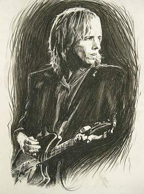 Tom Petty 1 Poster by Michael Morgan