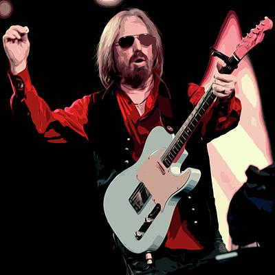 Tom Petty, Hypnotic Eye Poster