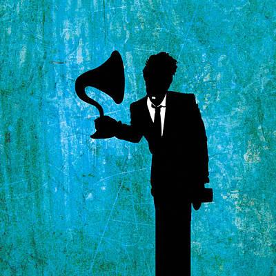Tom Waits Poster by Janina Aberg