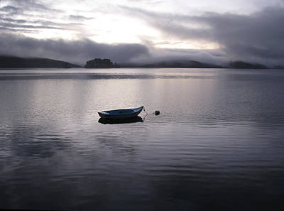 Poster featuring the photograph Tomales Bay At Sunset by Dianne Levy