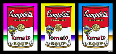 Tomato Soup Poster by Stephen Younts