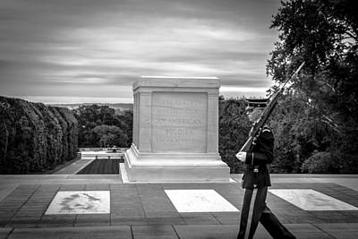 Poster featuring the photograph Tomb Of The Unknown Solider by David Morefield