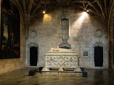 Tomb Of Vasco De Gama Poster by Steven Richman