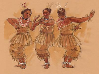 Tonga Dance From Niuafo'ou Poster