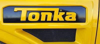 Tonka Truck Logo Poster