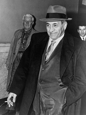 Tony Accardo, Successor Of Al Capone Poster by Everett