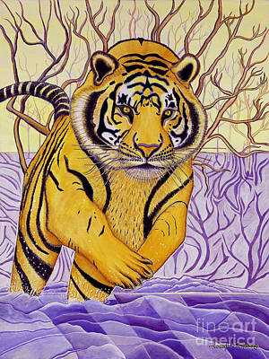 Tony Tiger Poster by Joseph J Stevens