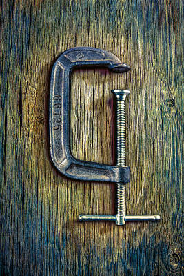 Tools On Wood 68 Poster
