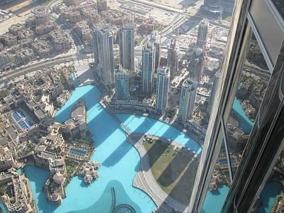 Top View. Burj Khalifa.  Poster